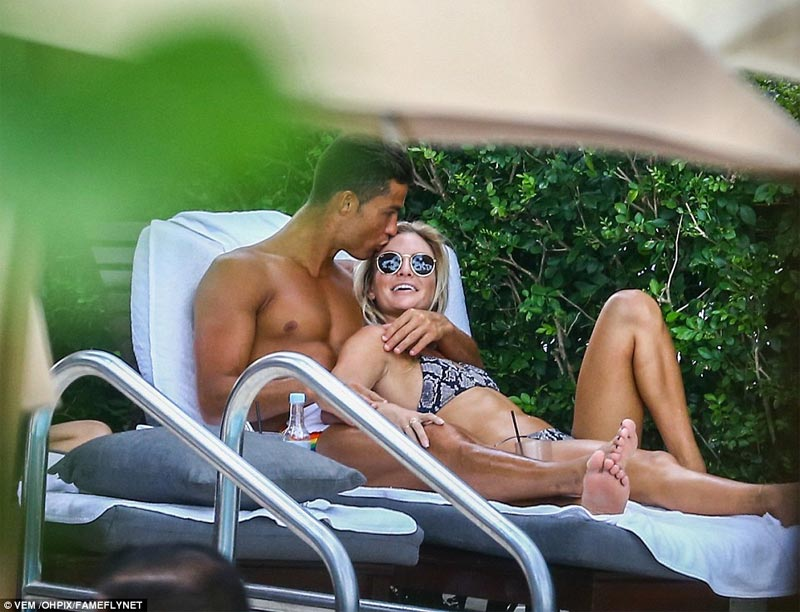 Cristiano Ronaldo lands new girlfriend, blonde beauty Cassandre Davis