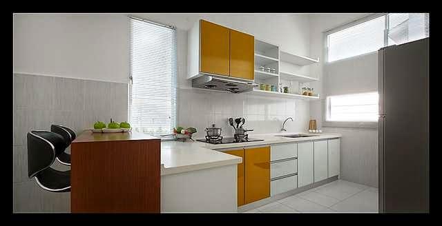 Ni Pun Dapur Rumah Contoh Simple Jer Kan Tapi Boleh Built In Bar Table Lagi A Kabinet Tak Banyak Kalau Aku Memang La