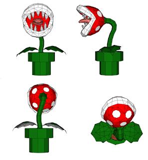 planta piranha supermario rondipaper