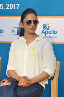 Actress Rakul Preet Singh at Endometriosis Awareness Walk at Apollo Cradle  0070.jpg