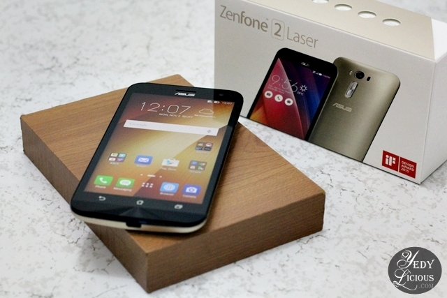 Review and Unboxing of ASUS Zenfone 2 Laser ZE500KL