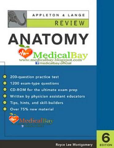 APPLETON & LANGE REVIEW of ANATOMY, 6th edition, PDF free