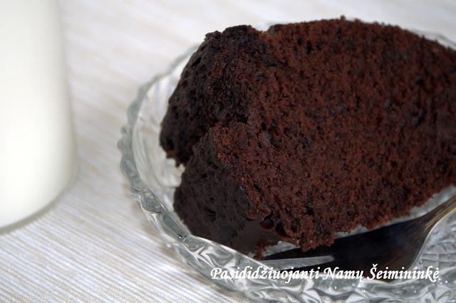 RECEPTAS: Felikso šokoladinis biskvitas
