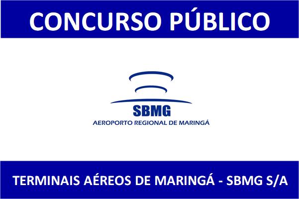 Concurso SBMG - Aeroporto de Maringá: Edital 2019