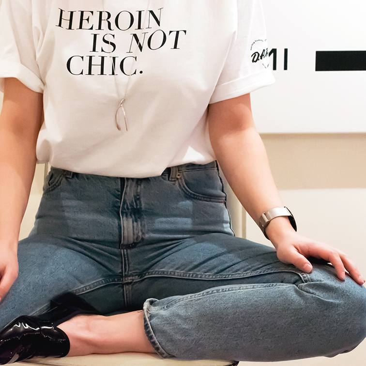 heroin is not chic, heleneisfor, Verameat wishbone necklace