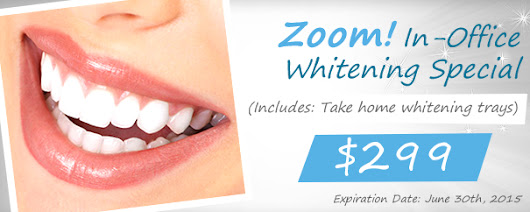 Zoom! In-Office Whitening Special in Encino!