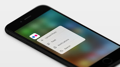 Nuevo Flickr 3D touch