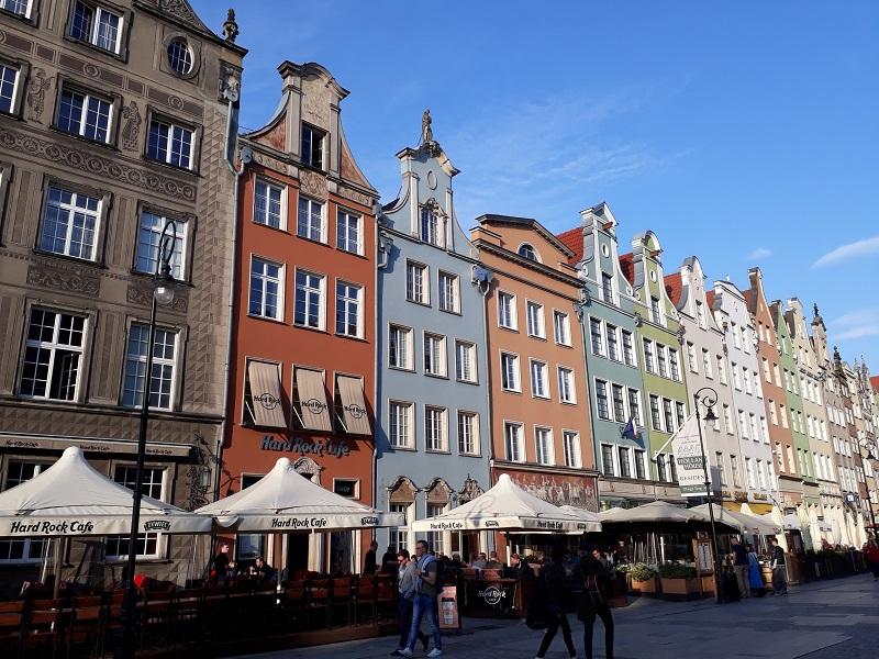 Dlugi Targ a Gdansk