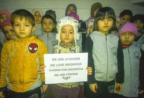 Muslim Uighur: Terima Kasih Indonesia, Dukungan Kalian Dicatat dalam Sejarah Perjuangan Uighur