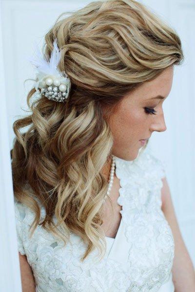 como hacer peinados de novia pelo corto