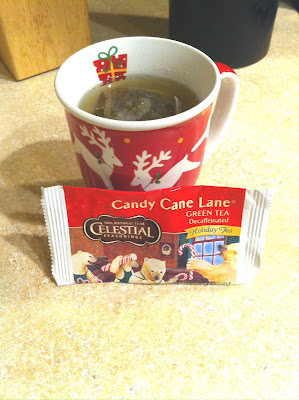 As part of the Frosty VoxBox I received a few bags of Celestial Seasonings Candy Cane Lane Green Tea. See the results of my taste test. | arelaxedgal.com