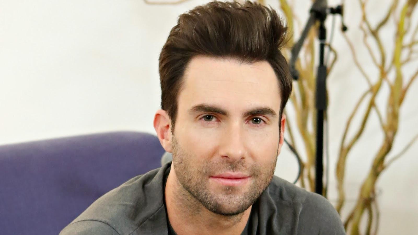 Maroon 5 Hairstyle: Stylish HD Wallpaper