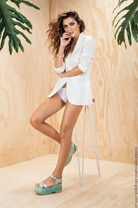 Moda 2017 Mujer Sandalias 2017 Pamuk Moda en Calzado femenino.