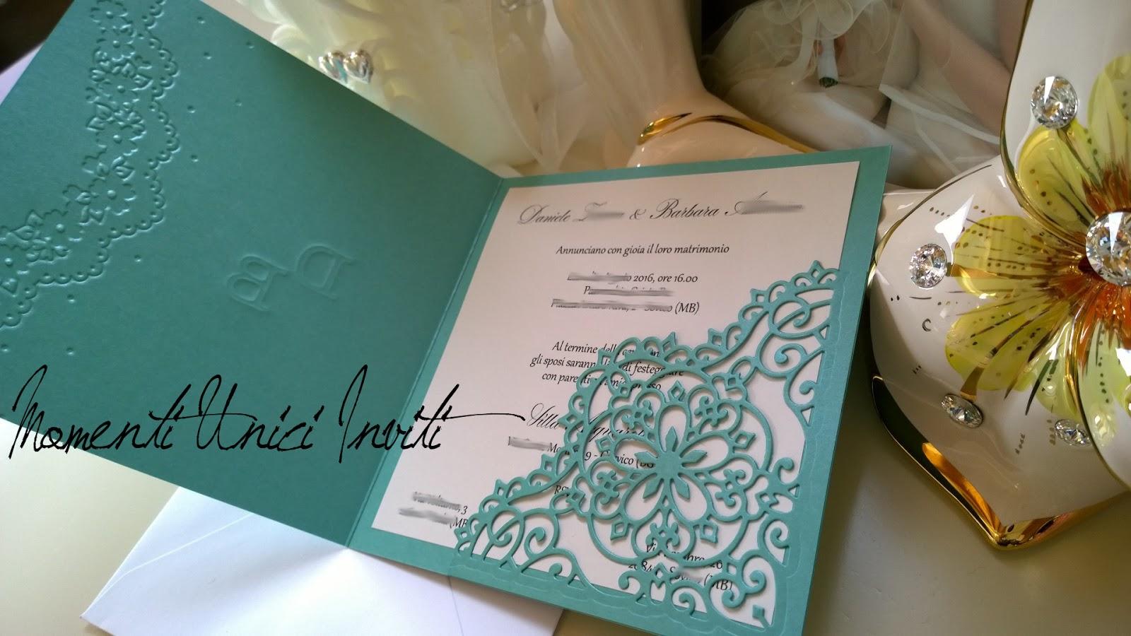 Partecipazioni Matrimonio Azzurro Tiffany : Colore tiffany archivi momenti unici inviti