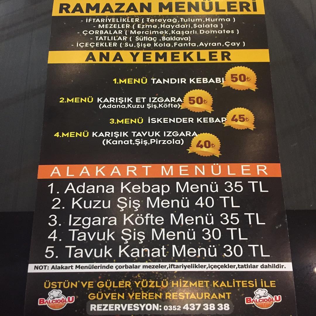 balcıoğlu talas kayseri iftar mekanları 2019 kayseri ramazan menüleri talas iftar menüleri talas iftar mekanları