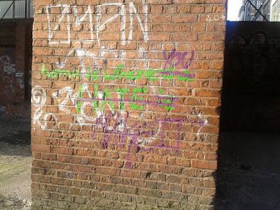 Manchester Oxford Road Grafitti UK Travel Blog