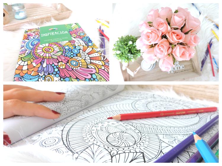 inspiración, colorear, láminas, cuadernos de pintar, estrés, combatir el estrés, conseguir inspiración, cómo encontrar inspiración, cómo inspirarse, cosas que inspiran