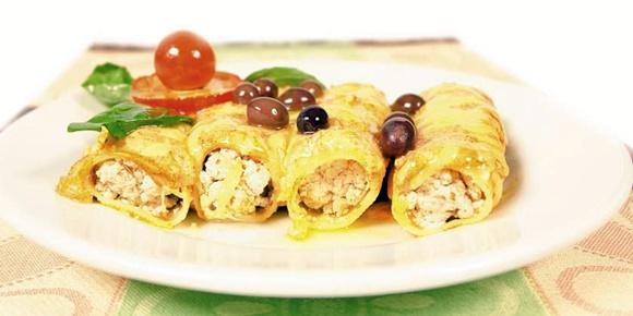 Canelones De Pollo Para Celiacos