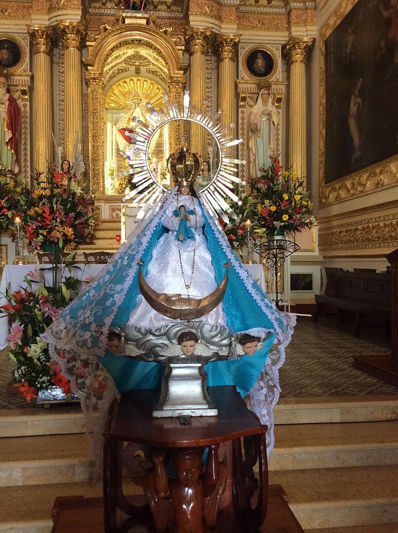 Vista de la Virgen de los Remedios