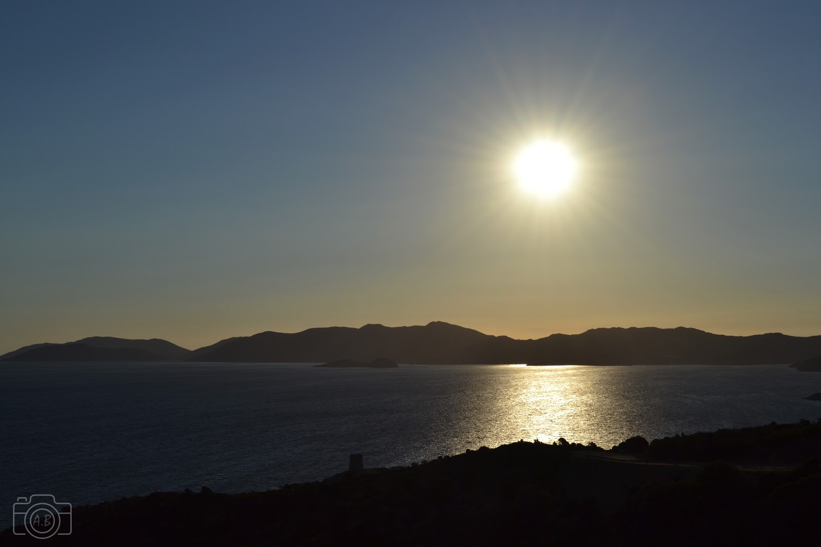 Sardegna, Sardaigne, paysage ensoleillé