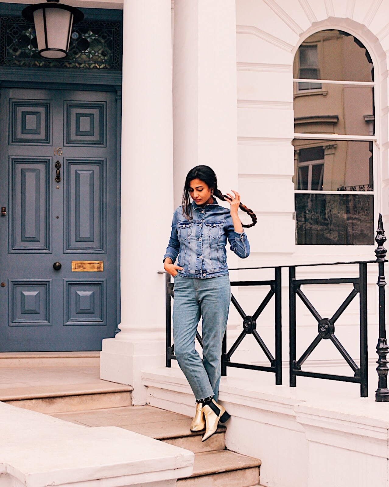 how to wear denim on denim, denim on denim, autumn winter look, autumn winter style inspiration, gold booties, autumn winter delhi, indian blog, indian blogger, top indian blog, indian luxury blog, uk blog, british blog, london blog, delhi blogger, street style, spring summer 2017, spring summer lookbook, wear trends, how to, how to style, effortless chic, parisian style, how to dress, style tips, street style delhi, delhi blog, delhi fashion blogger, street style tips, parisian chic, parisian outfit, london street style, weekend outfit, city girl style, boho chic look, how to effortless chic, summer tips, autumn fashion, top europe style, autumn blogger outfit, denim, jeans, denim trend 2017, style denim trend,