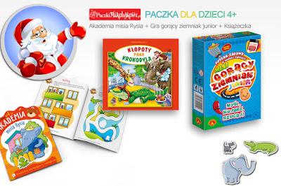Paczki Świąteczne,Mikołajkowe - paczkimikolajkowe.pl- Paczka dla 4latka