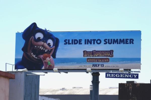 Hotel Transylvania 3 billboard