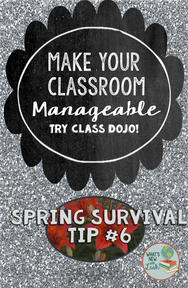 Ready for spring survival tip #6? You hear a lot about Class Dojo at the elementary level, but what about for secondary students? I don't recommend it for all secondary, but I firmly believe - and have experienced - in its success with students up to 10th grade. Learn how I used Class Dojo with high school students in this post!