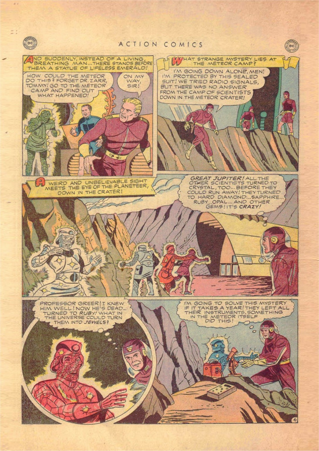 Read online Action Comics (1938) comic -  Issue #138 - 17