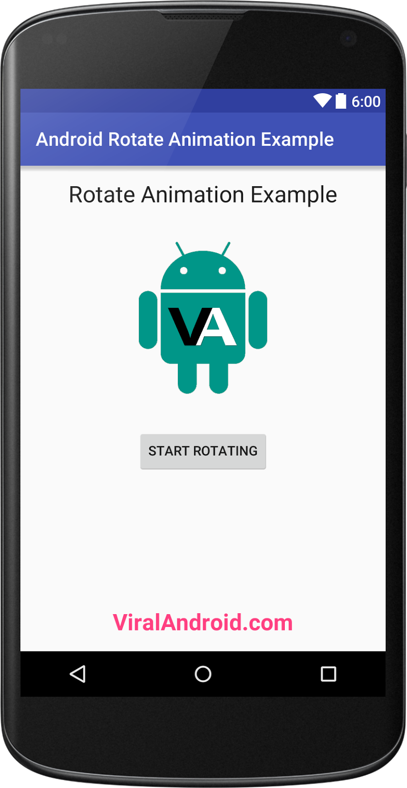 Android Rotate Animation Example | Viral Android – Tutorials