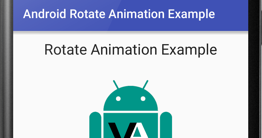 Android Rotate Animation Example   Viral Android – Tutorials