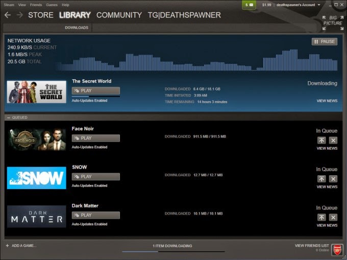 Download Steam Games Manager