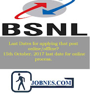 Bharat Sanchar Nigam Limited recruitment 2017  for various posts  apply online here