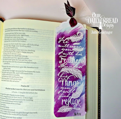 ODBD Stamps: Find Refuge, Dies: Bookmark