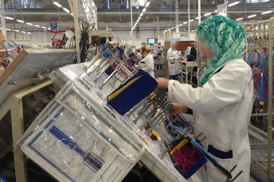 توظيف 70 عاملة في مصنع للنسيج حاصلات على شهادة تخصص المهني