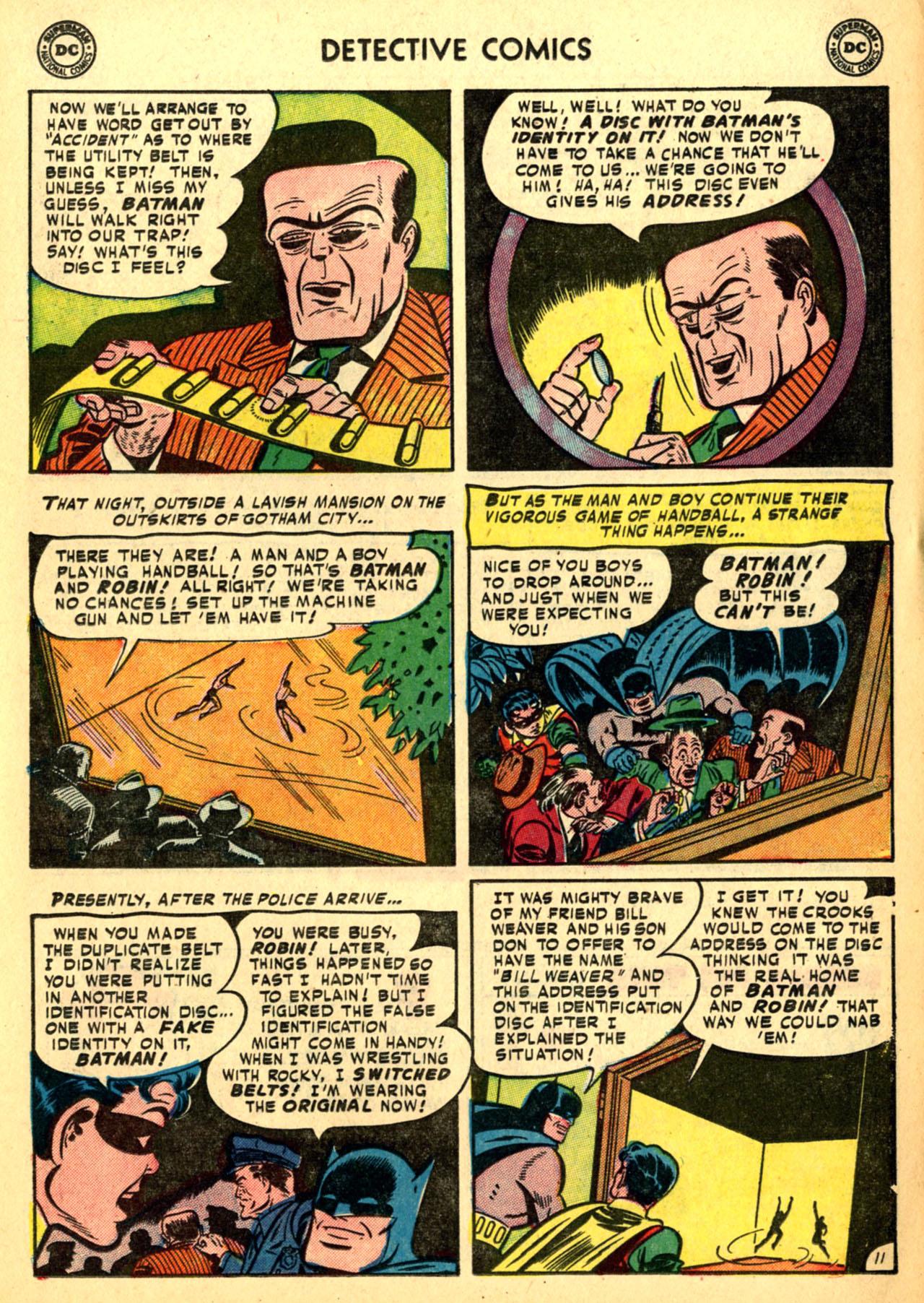 Detective Comics (1937) 185 Page 12