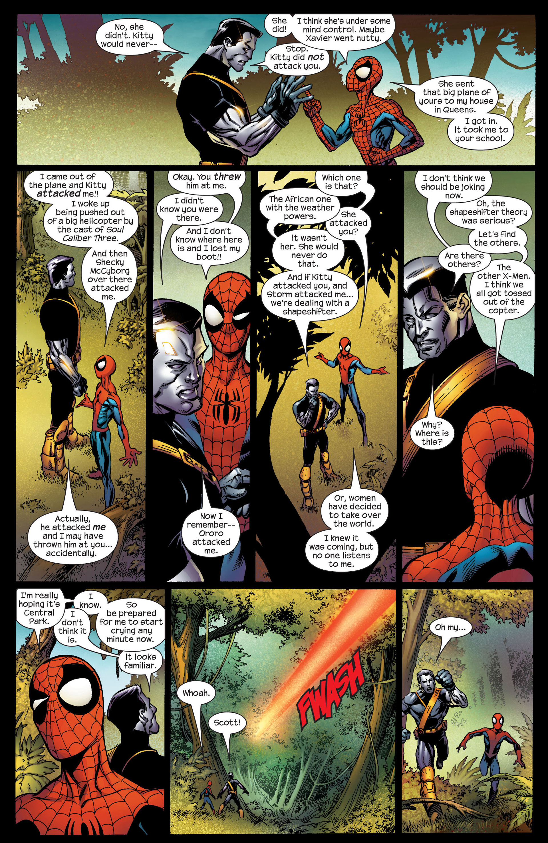 Read online Ultimate Spider-Man (2000) comic -  Issue #92 - 12