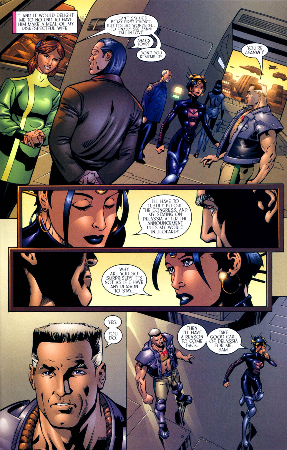 Read online Sigil (2000) comic -  Issue #10 - 12