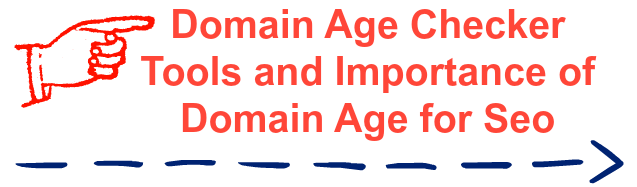 domain age checking and importance