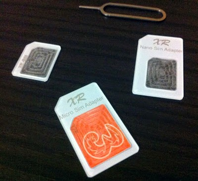 cara memotong micro simcard ke nano simcard
