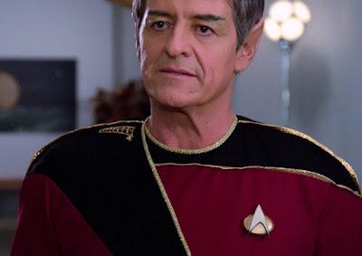 TNG season 1 admiral uniform - gold trim