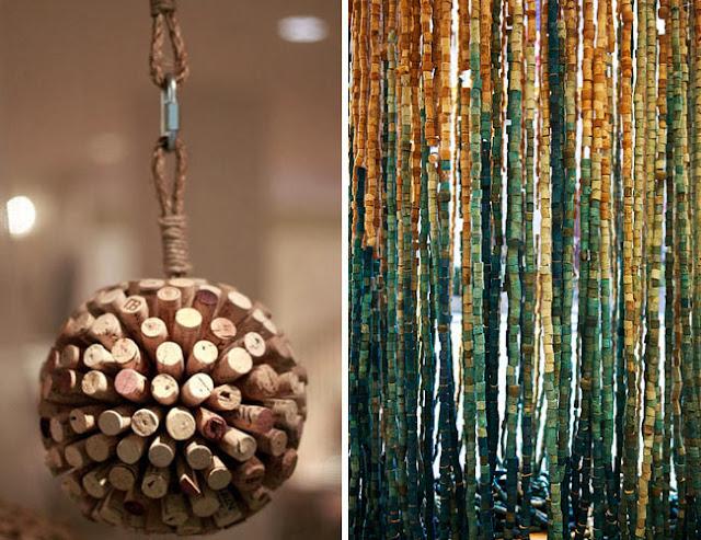Of Dots & Things: Cork Art