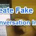 Facebook, Whatsapp Ki Fake Conversation Image Kaise Banaye