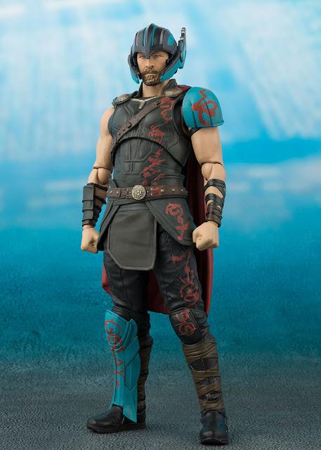 osw.zone SCH. Figuarts Thor Action Figure of Thor: Ragnarok & Tamashii Effect Thunderbolt Set