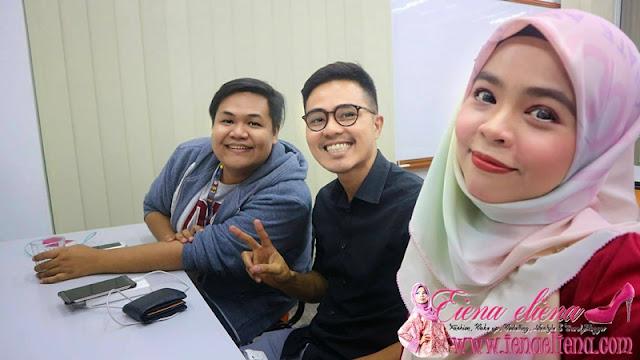 Sesi Suai Kenal Pengasas NaViX Bersama Bloggers