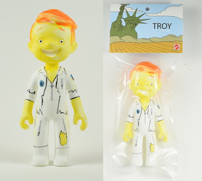 "The Simpsons ""I Can Sing!"" Troy McClure Resin Figure by Super Secret Fun Club"