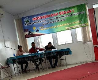 IMAYAWA Bandung Bandung Menyelenggarakan Musyawarah Besar Ke-I
