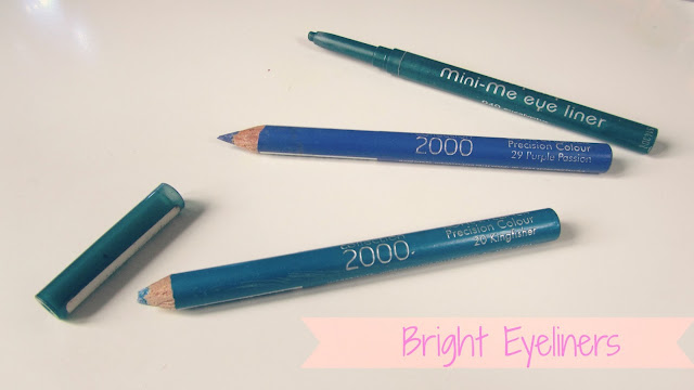 coloured-eye-liners-blue-green-swatch-review