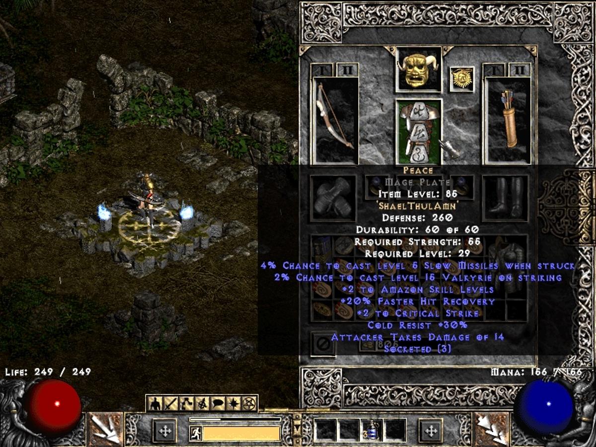 Diablo 2: Twinked Multiple Shot Bowazon: Part II - Normal mode | Lilura1