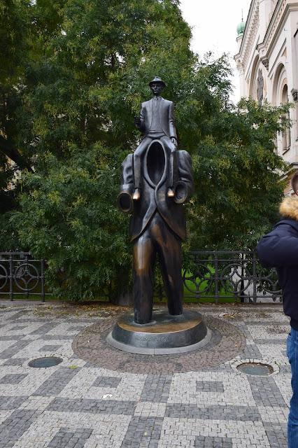 Statue of Franz Kafka | Best of Prague in 3 Days